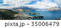 ニュージーランド クイーンズタウン ボブズ・ヒル山頂の展望台からの風景 35006479