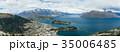 ニュージーランド クイーンズタウン ボブズ・ヒル山頂の展望台からの風景 35006485