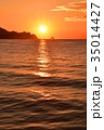尾鷲市 朝日 海の写真 35014427