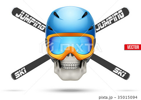 Ski club or team badges and labels 35015094