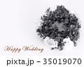 Happy Wedding リース お祝い 35019070