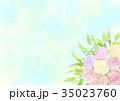 花 植物 ブーケのイラスト 35023760