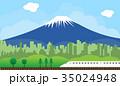 ふじ フジ 富士のイラスト 35024948