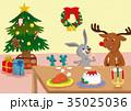 どうぶつたちのクリスマス 35025036