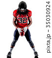 american football player man isolated 35030924
