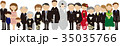 結婚式 集合写真  35035766