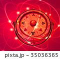 羅針盤 デジタル ビジネスのイラスト 35036365