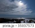 神磯の鳥居 海 大洗海岸の写真 35037573