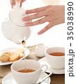 紅茶を出す 35038990