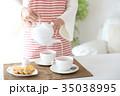紅茶を出す 35038995