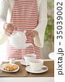 紅茶を出す 35039002