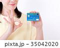 ミドル女性、クレジットカード 35042020