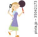 主婦 キッチン 35042173