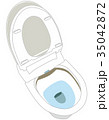 ベクター トイレ 洋式のイラスト 35042872