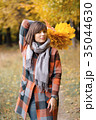 秋 あき 葉の写真 35044630