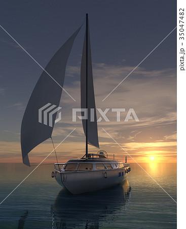 ヨット 35047482
