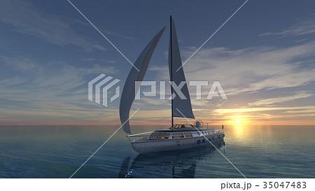 ヨット 35047483