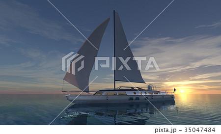 ヨット 35047484