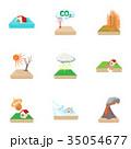 天然 自然 災害のイラスト 35054677