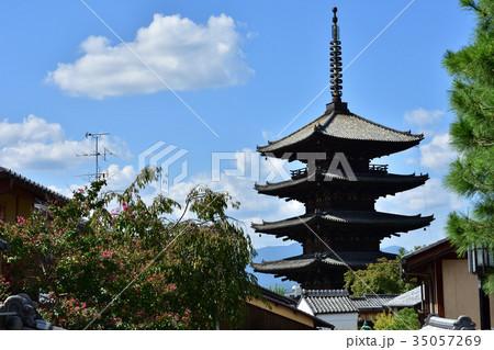 京都 東山の街並み 35057269