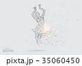ベクトル ダンス 踊るのイラスト 35060450