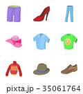 品種 種類 服のイラスト 35061764