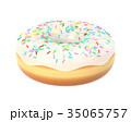 ドーナツ お菓子 スイーツのイラスト 35065757