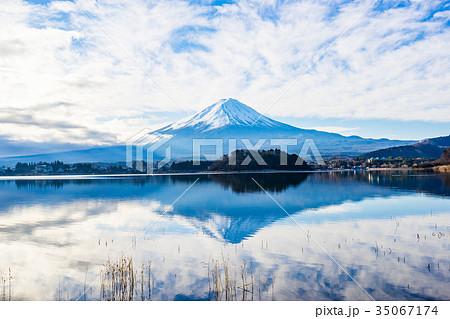 【山梨県】富士山 35067174