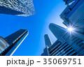《愛知県》名古屋駅・都市風景 35069751