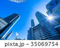 《愛知県》名古屋駅・都市風景 35069754