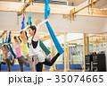 エアリアルヨガ 空中ヨガ ハンモックヨガ 35074665