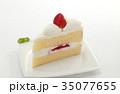 イチゴショートケーキ ショートケーキ ケーキの写真 35077655