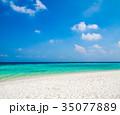 南国 海 青空の写真 35077889