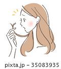女性 髪の毛 トラブル 35083935