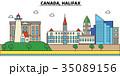 Canada, Halifax. City skyline architecture 35089156