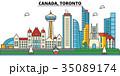 Canada, Toronto. City skyline architecture 35089174
