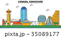 Canada, Vancouver. City skyline architecture 35089177