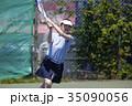 テニスをする女性 35090056
