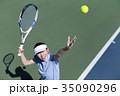 テニスをする女性 35090296