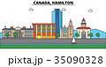 Canada, Hamilton. City skyline architecture 35090328
