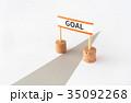 GOAL ゴール 目標 努力 35092268