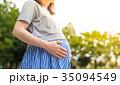 妊婦 マタニティーフォト 女性の写真 35094549