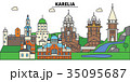 Russia, Karelia, Petrozavodsk. City skyline 35095687