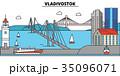Russia, Vladivostok. City skyline, architecture 35096071