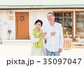 笑顔 シニア夫婦 35097047