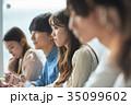 大学生 講義 女性の写真 35099602