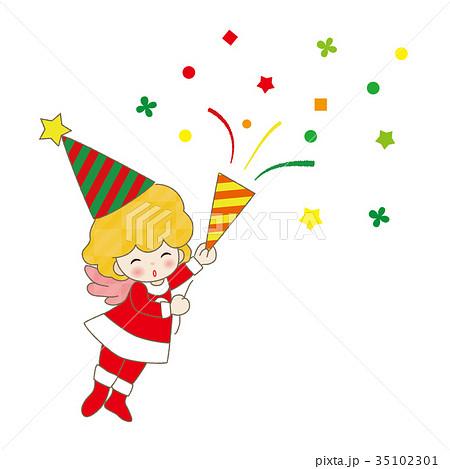 クリスマス 天使 妖精 サンタクロース 女の子 35102301