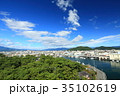 沼津港 青空 海の写真 35102619