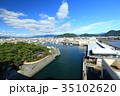 沼津港 青空 海の写真 35102620