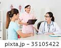 医師 医者 女性の写真 35105422